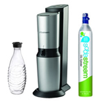 Sodastream Crystal Seltzer Starter Kit (silver) Sodastream Crystal Sil