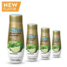SodaStream Sparkling Gourmet Drink Mix Flavors sodastream sparkling gourmet lime basil sodamix