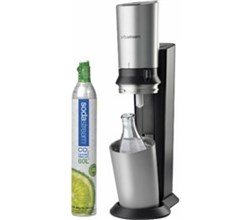 SodaStream Water Makers sodastream crystal starter kit black silver