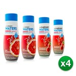 SodaStream Zeros-Sparkling-Drink-Variety-Pack (16 Pack) Sodastream Zer